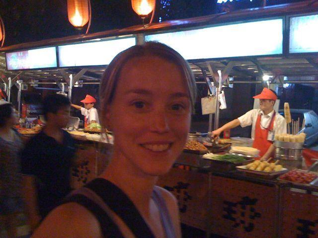 Matmarknaden i Peking