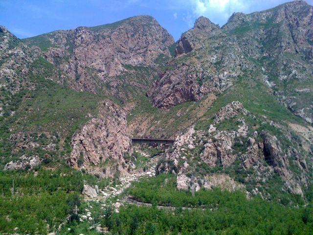 Berg i Kina