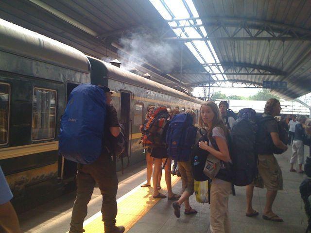 Stationen i Peking